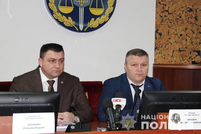 У Житомирі прокурор області та керівник ГУ Нацполіції розповіли про заходи забезпечення законності і правопорядку під час виборчої кампанії
