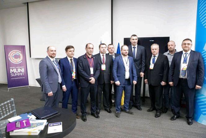 Міський голова Житомира взяв участь у ізраїльсько-українському саміті