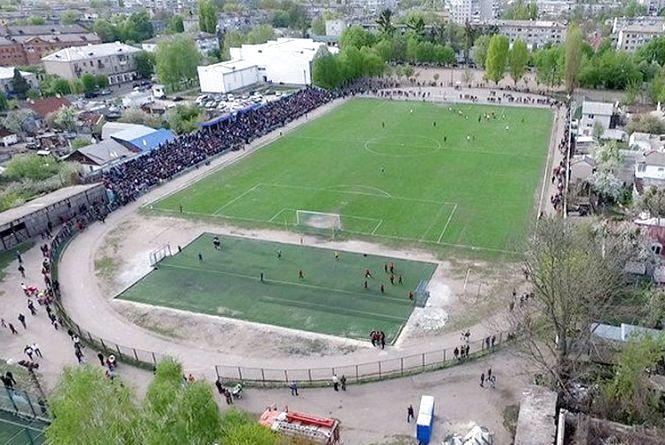 У Житомирі робоча група з'ясовувала, чи ведеться будівництво біля стадіону Спартак