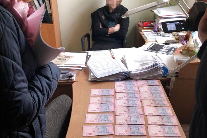 Чиновниця Житомирстандартметрології організувала схему отримання хабарів з підприємців Житомирської, Київської, Чернігівської та Сумської областей