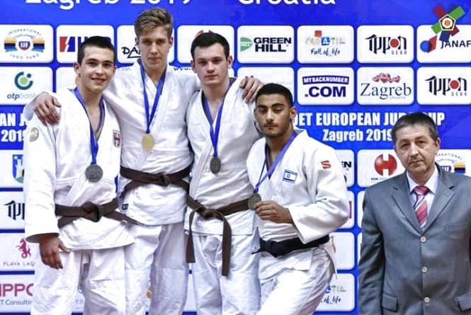 Житомирянин Тимур Валєєв виграв бронзу на Кубку Європи з дзюдо серед кадетів
