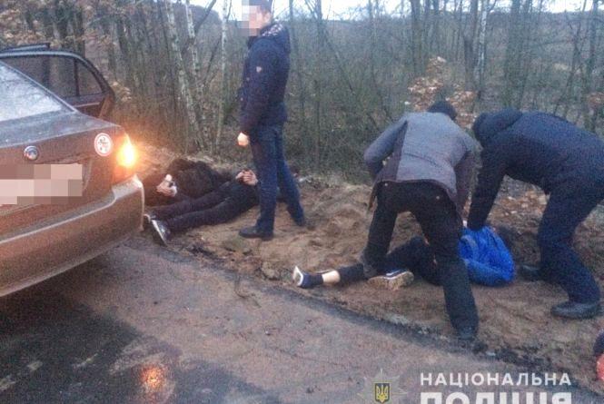 У Хорошівському районі знешкодили банду угонщиків
