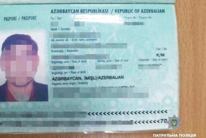 У Житомирі патрульні виявили громадянина Азербайджану, який перебував в Україні незаконно
