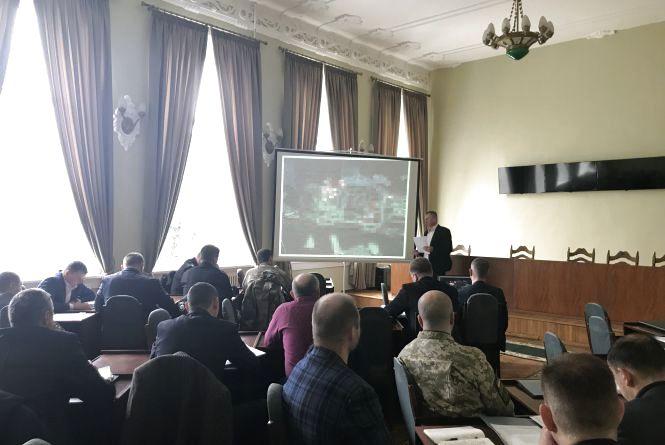 У Житомирі СБУ провела командно-штабне антитерористичне навчання