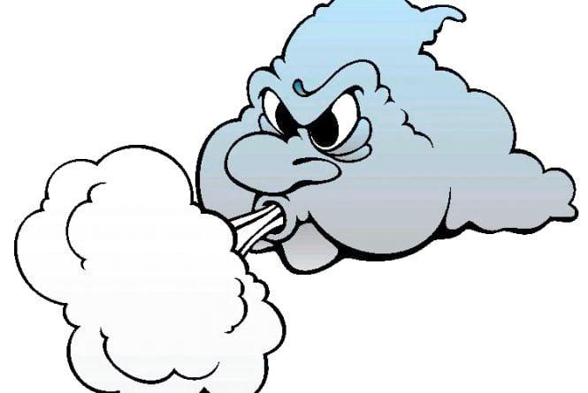 Увага! Ускладнення погодних умов: сильний північно-західний вітер