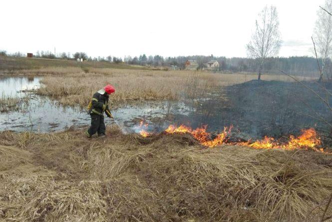 В області продовжує палати сухостій: за добу ліквідовано 24 пожежі
