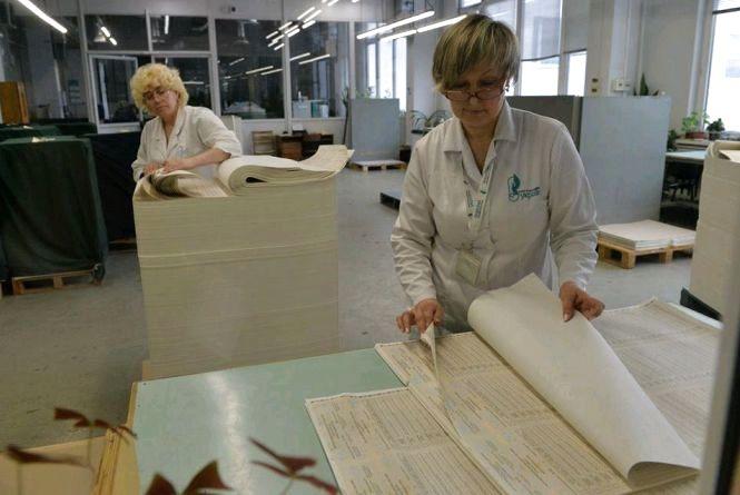 У Малині виготовили 434 тони паперу для виборчих бюлетенів