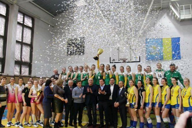 Житомирські волейболістки вийшли в Суперлігу