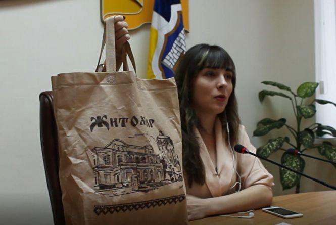 Житомирська депутатка Ірина Ярмоленко представила свій план дій зі зменшення використання пластику в Житомирі