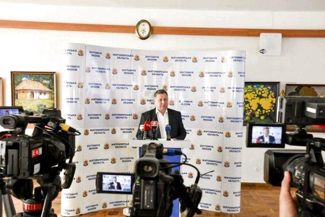 Віктор Лучків відсторонений від роботи в управлінні охорони здоров'я ОДА