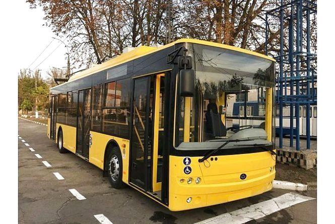 Для Житомира збираються закупити 49 нових тролейбусів