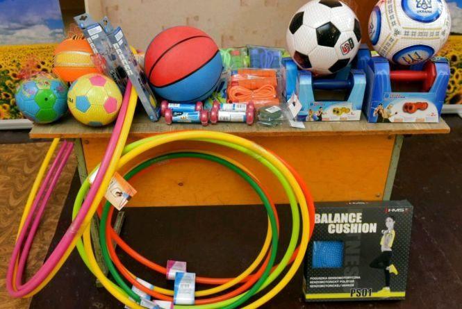 Громади-переможці спортивного конкурсу за призові кошти придбали спортивне обладнання