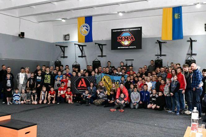 У Житомирі відбувся відкритий чемпіонат міста зі змішаних видів єдиноборств ММА