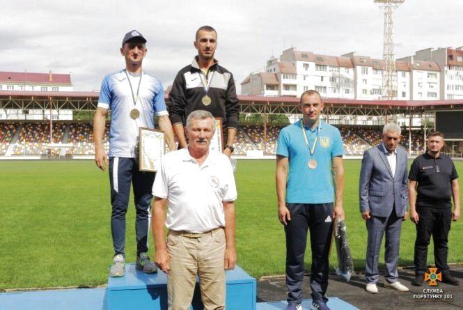 Вперше за часів незалежності України житомирянин став чемпіоном Кубку України з пожежно-прикладного спорту