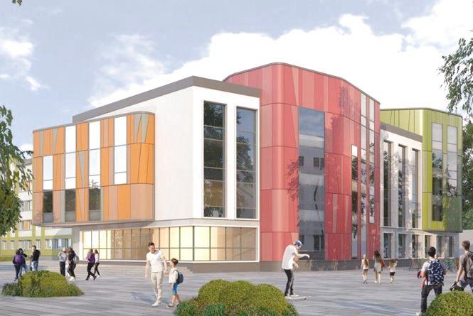 Головний архітектор міста презентував ескізи нового корпусу гімназії № 23 м. Житомира