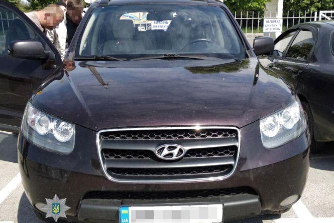 У Житомирі на СТО викрали автомобіль  Hyundai