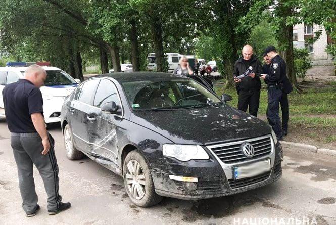 Нетверезий і на краденому авто: у Житомирі поліцейські зупинили порушника