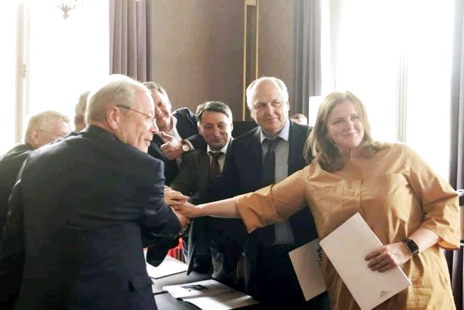 Житомирщина підписала меморандум про культурну та туристичну співпрацю з французьким містом Тур