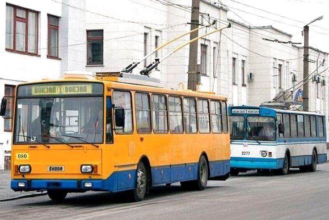 З 1 червня тролейбуси маршруту № 1 курсуватимуть по кільцю