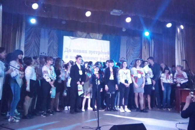 Житомирська ЗОШ №21 нагородила своїх кращих учнів