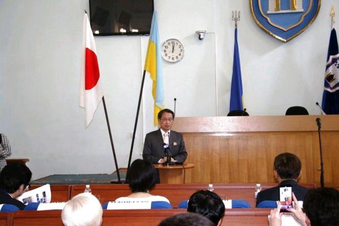 «Дні Японії у Житомирі»: у міськраді проходить семінар за участі ТОП-менеджерів японських компаній