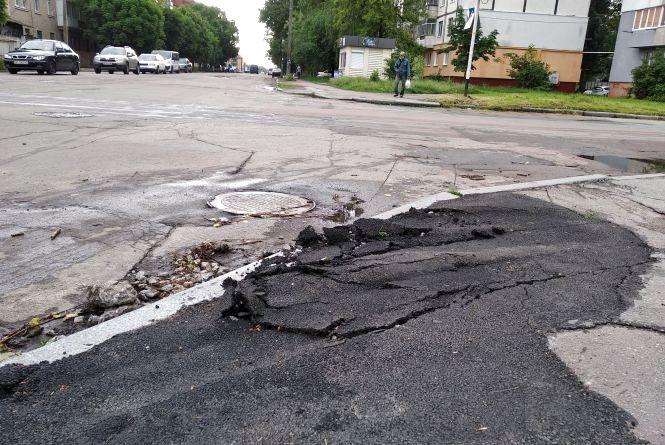 Якість ремонту доріг і тротуарів в Житомирі. ФОТОФАКТ