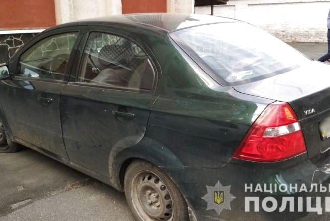 У Малині поліція виявила автомобіль, розшукуваний в Дніпропетровській області