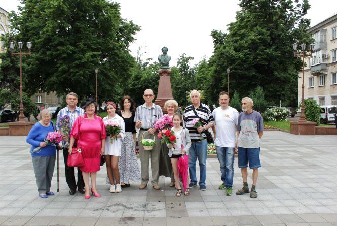 Історія пам'ятника Олександру Пушкіну в Житомирі