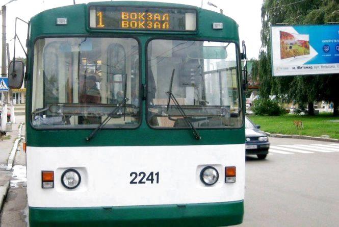Сьогодні деякі маршрути тролейбусів будуть змінені через ремонт тепломереж на Великій Бердичівській