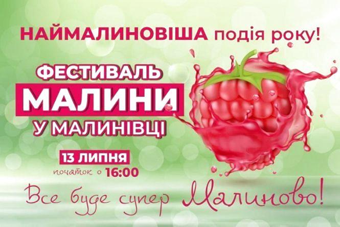 13 липня на Житомирщині відбудеться другий фестиваль малини