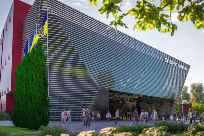 Житомир отримає субвенцію на будівництво Палацу спорту