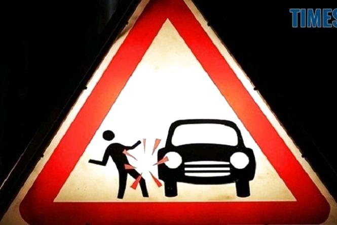У Житомирі під колеса Lexus потрапила пішохід