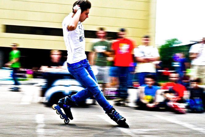 Житомирян запрошують на безкоштовні тренування з фігурного катання на роликових ковзанах на Михайлівську