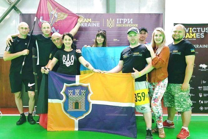 Житомирські бійці взяли участь у спортивних тестуваннях напередодні Національних Ігор Нескорених