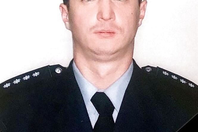 Поліція Житомирщини висловлює співчуття родині загиблого поліцейського Володимира Романенка