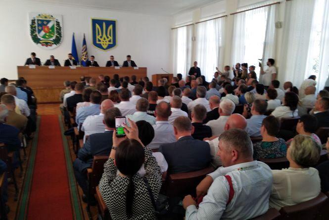 Президент  Зеленський в Олевську представив нового очільника області