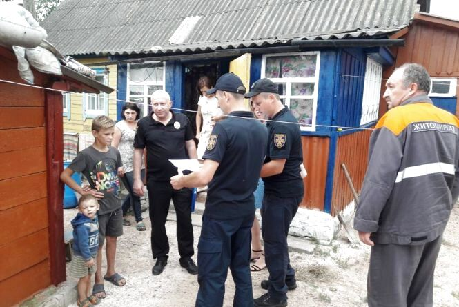 Задля збереження життя та здоров'я громадян рятувальники організували широкомасштабне відпрацювання громади