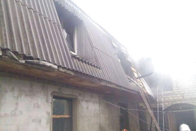 У  Житомирі на пожежі в будинку травмувався 14-річний підліток