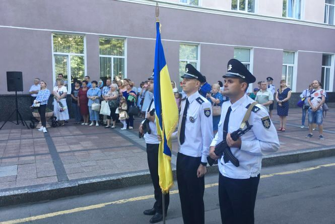 Поліцейські Житомирщини вшанують пам'ять полеглих колег
