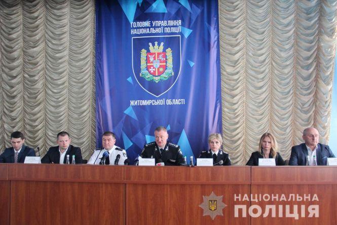 Поліцію Житомирської області очолив полковник поліції Сергій Крупєй