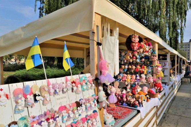 Житомир почав святкувати День міста: відкрили ярмарок народних майстрів