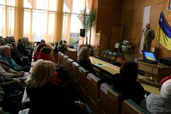 У Житомирі відкрили куточок пам'яті полеглих за Незалежність Україниземляків