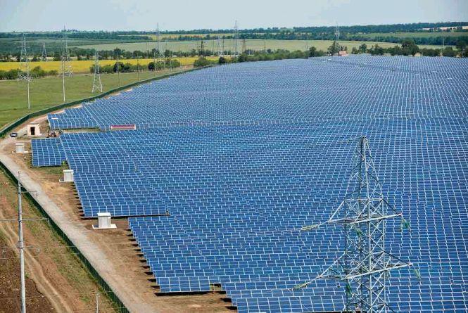 «Нафтогаз України» побудує на Житомирщині сонячну електростанцію