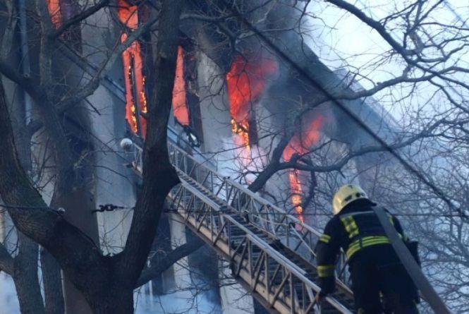 Актуально: як діяти під час пожежі в навчальному закладі