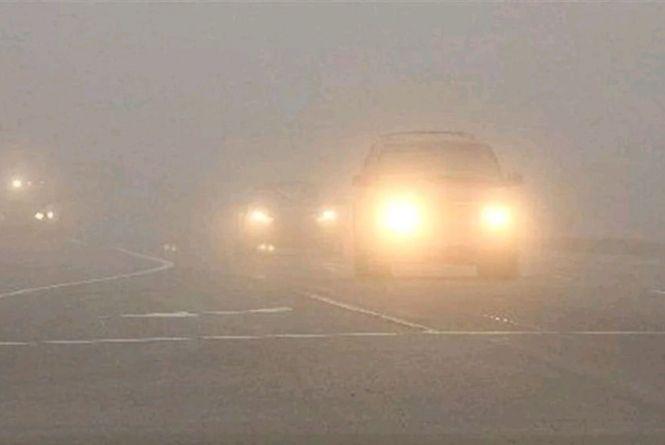 Увага! На дорогах Житомирщини - туман