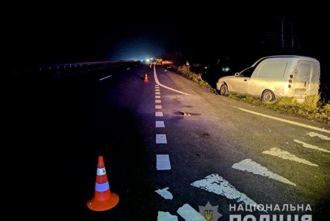 Трагедія на узбіччі: у Пулинському районі вантажівка збила на смерть чоловіка, що лагодив автівку