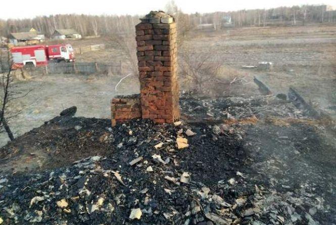 Трагедія в Овруцькому районі: поки дружина помітила пожежу, її чоловік уже загинув