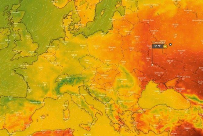 Україна вже сьогодні стане найгарячішою країною Європи : 10:06:2020 -  zt.20minut.ua