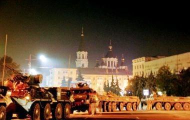 У День захисника України на майдані ім. С. Корольова продемонструють військову техніку. АНОНС