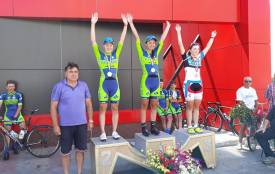 Житомирська велогонщиця стала чемпіонкою України у багатоденній гонці